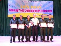 Vinataba Saigon Veterans Committee participated in Singing Contest for Veterans in Binh Chanh Dist. 2016